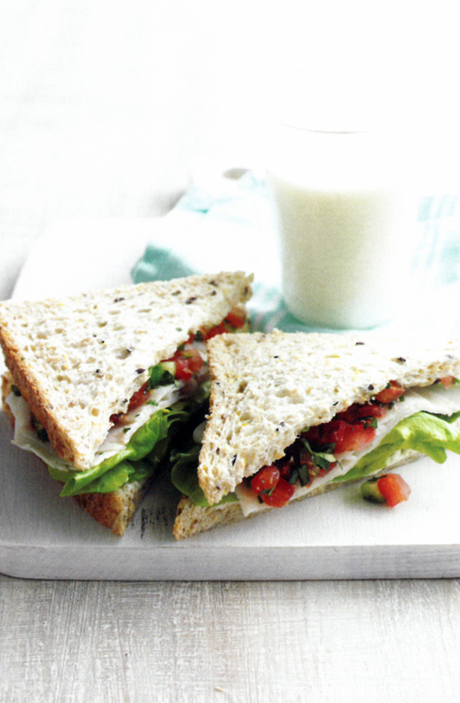 Chicken-salsa-sandwiches