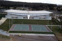 AIS Arena and Netball Courts 1982