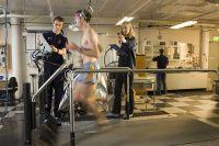AIS Physiology testing treadmill VO2 max 2005