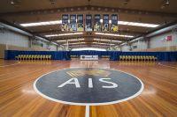 AIS basketball and netball centre AIS logo 2014