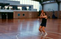 Indoor Basketball Hall Opening 1984
