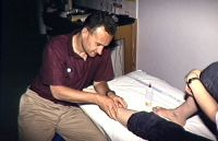 Peter Blanch AIS Physiotherapy soft tissue massage 1993