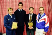 Presentation of plaques for recognition of contributions to the EPO 2000 Project (L-R) Dr Amanda Dine Dr Rob Lewin Dr John Kellett Robin Parisotto AIS