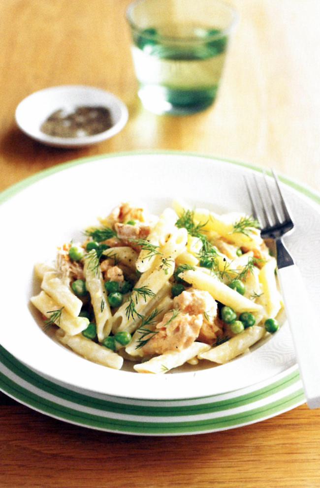 Salmon-and-pea-pasta