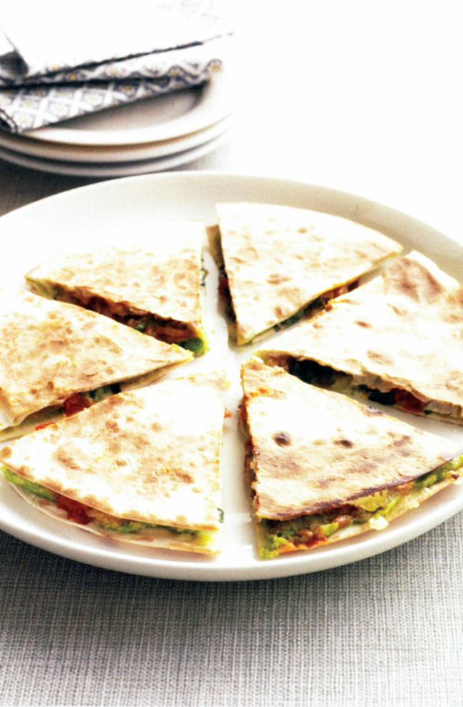 Quick-quesadillas