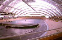 AIS Superdome velodrome interior Adelaide 1993