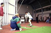 AIS Biomechanics Hockey testing action 1990