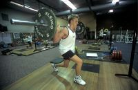 James Rogers (AIS Water Polo) strength and conditioning training 2002