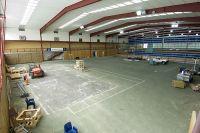 AIS indoor tennis courts facility resurfacing 2005