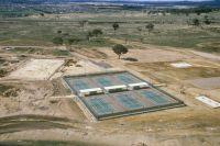 AIS outdoor tennis court 1983