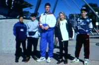 AIS site tour guide Dion Russell 1994