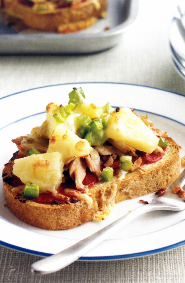 Hawaiian-toast