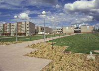 AIS administration building and AIS residence 1985