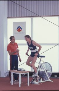 AIS Physiology Tri Level Test 1989 - Andrew Lloyd Athletics and Dr Dick Telford