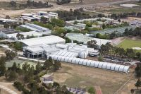 Aerial photo of the AIS Bruce site and facilities 2007