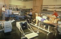 AIS Sports Science Laboratory 1982 - Dick Telford and Athletes
