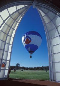 AIS hot air balloon launch 1996