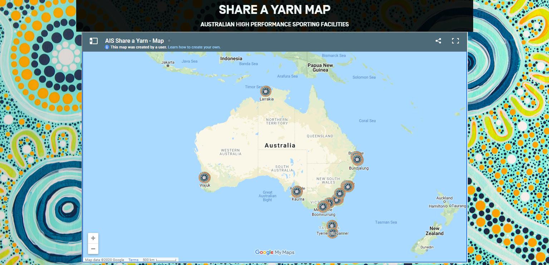 Share a Yarn map