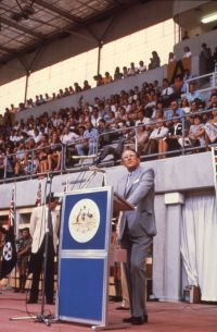 AIS Opening by Hon Malcolm Fraser 1981
