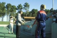 AIS Hockey Perth Opening Ceremony 1984 by John Brown, Minister for Sport