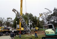 Re-construction of the Sydney Olympic Sculptures a gift from AMP 2003