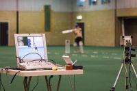 Biomechanics cricket testing video analysis 2005