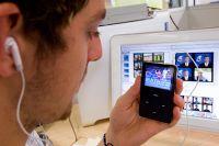 Jerrad Tyson (AIS Football) using SPIDAR with iPod 2007