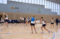 AIS netball centre of excellence athletes train 2016