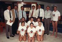 AIS diving program established in Brisbane 1984