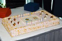 AIS 25th birthday cake 2006