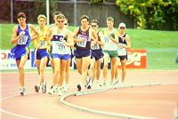 Dion Russell race walking Optus Grand Prix