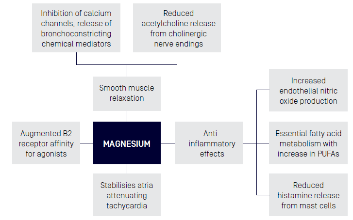 proposed mechanism of actions
