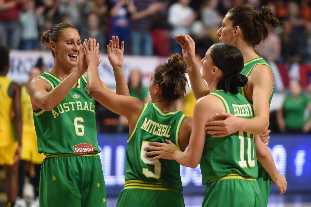 Aus womens basketball team