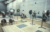 AIS Facilities Weightlifting Training Area Indoor Stadium 1982
