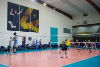 AIS volleyball athletes train in the AIS volleyball facility 2016