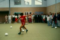 Opening AIS Soccer Indoor Training Hall 1984